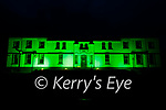 The Valentia Transatlantic Cable Station goes Green for St Patricks Day.