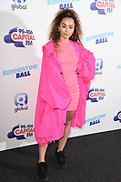 Ella Eyre<br /> poses on the media line before performing at the Summertime Ball 2019 at Wembley Arena, London<br /> <br /> ©Ash Knotek  D3506  08/06/2019