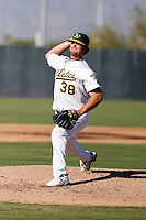 Justin Sousa - Oakland Athletics 2009 Instructional League. .Photo by:  Bill Mitchell/Four Seam Images..