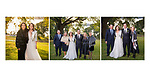Album spreads from an elegant autumn wedding in the Hudson Valley on the grounds of Lyndhurst Mansion.  <br /> Tarrytown, New York