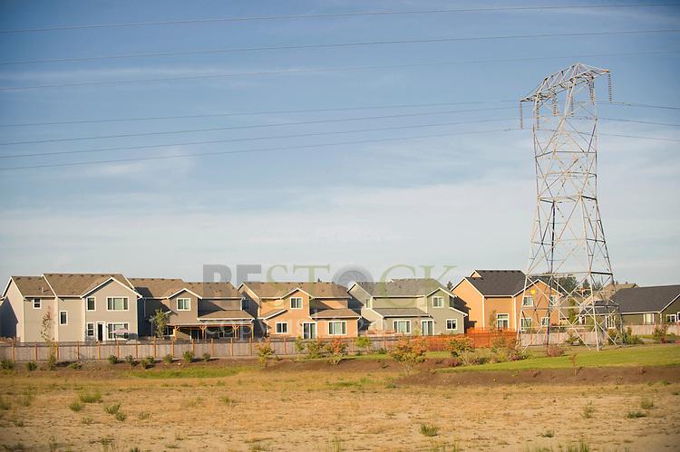 Field Behind a Neighborhood