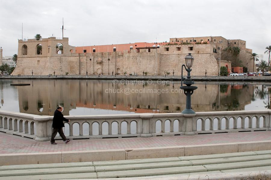 Tripoli, Libya - Seraya al-Hamra, Turkish Fort.  Libya's National Museum is now inside the fort.