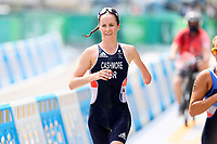 29th August 2021; Tokyo, Japan; Claire Cashmore (GBR), <br /> Triathlon : Women's PTS5<br /> during the Tokyo 2020 Paralympic Games at the Odaiba Marine Park in Tokyo, Japan.