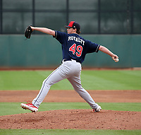 Alex Royalty - Cleveland Indians 2019 spring training (Bill Mitchell)