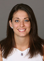 STANFORD, CA - SEPTEMBER 28:  Michelle Harrison of the Stanford Cardinal women's basketball team poses for a headshot on September 28, 2009 in Stanford, California.