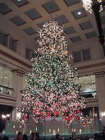 Christmas Tree, Walnut Room, Chicago