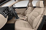 Front seat view of a 2015 Skoda SUPERB Elegance 5 Door Wagon 2WD Front Seat car photos