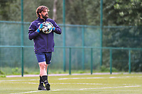 Charleroi's goalkeepercoach Emanuele Lepore pictured during a female soccer game between KRC Genk Ladies and Sporting Charleroi  on the first matchday of the 2020 - 2021 season of Belgian Women's SuperLeague , friday 28 of August 2020  in Genk , Belgium . PHOTO SPORTPIX.BE   SPP   STIJN AUDOOREN