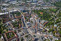 Bergedorf vom Mohnhof bis zur Bahnlinie: EUROPA, DEUTSCHLAND, HAMBURG, (EUROPE, GERMANY), 23.08.2017: Bergedorf vom Mohnhof bis zur Bahnlinie