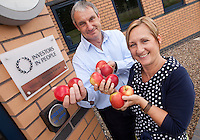 Pictured are Worldwide Fruit MD Robert Baliki with HR Director Trish McCarron