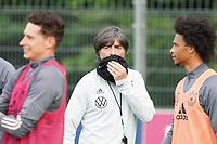 Bundestrainer Joachim Loew (Deutschland Germany) mit MNS - 31.08.2020: Erstes Training der Deutschen Nationalmannschaft vor dem Nations League gegen Spanien, ADM Sportpark Stuttgart