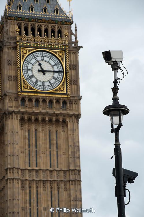 CCTV camera in Parliament Square.