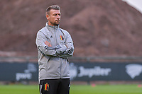 head coach David Penneman of Belgium pictured before  a soccer game between the national teams Under17 Youth teams of Belgium and Luxemburg in the Qualifying round in group 3 on wednesday 6 th of October 2020  in Tubize , Belgium . PHOTO SPORTPIX | STIJN AUDOOREN
