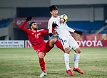 Action - 16. Syria vs Korea Republic - AFC U23 Championship China 2018