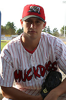 July 17, 2003:  Chris Rupert of the Batavia Muckdogs during a game at Dwyer Stadium in Batavia, New York.  Photo by:  Mike Janes/Four Seam Images