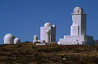 Spanien, Kanarische Inseln, Teneriffa, Teide-Park, Observatorio Izaña (Izana)