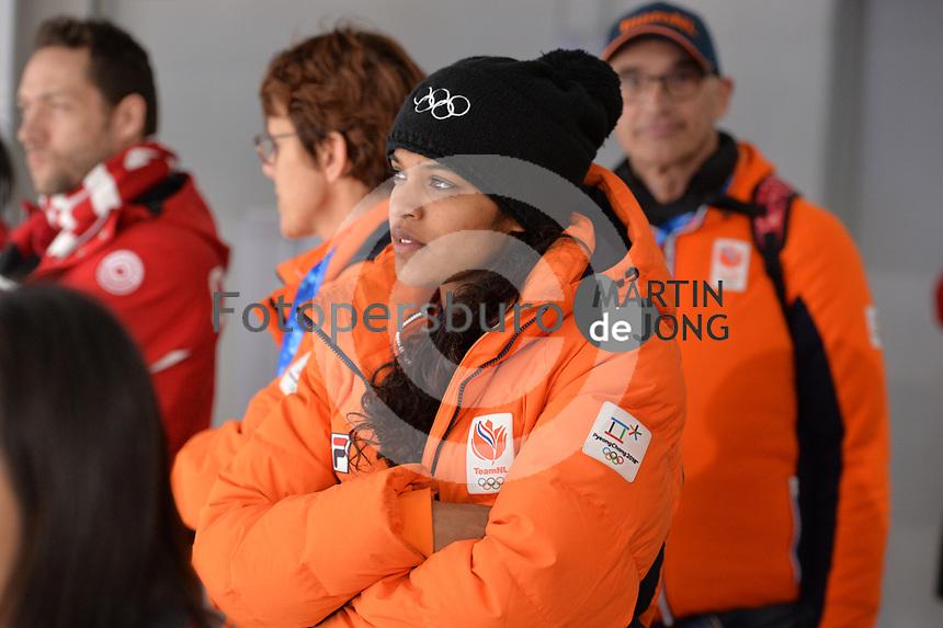 OLYMPIC GAMES: PYEONGCHANG: 19-02-2018, Gangneung Oval, Long Track, Anice Das (NED), ©photo Martin de Jong