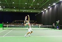 12-02-13, Tennis, Rotterdam, ABNAMROWTT, Roger Federer training