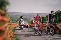 2nd group up La Redoute<br /> <br /> 104th Liège - Bastogne - Liège 2018 (1.UWT)<br /> 1 Day Race: Liège - Ans (258km)