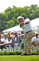 Arnold Palmer in action at the Bay Hill Invitational at Arnold Palmer's Bay Hill Club & Lodge in Orlando, FL in March 2003. (Photo by Brian Cleary / www.bcpix.com)