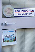 Europe/France/Provence-Alpes-Côte d'Azur/13/Bouches-du-Rhône/Marseille:  détail d'un commerce du vallon des Auffes