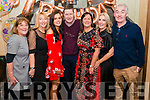 Valerie O'Callaghan from Killarney celebrated her 50th birthday surrounded by friends and family in the Failte Hotel, Killarney last Friday night. Pictured with l-r Geraldine BurkeKathleen Weber, Megan and Paudie O'Callaghan, Deirdre Gaudino and Derry O'Keefee.