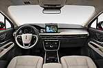 Stock photo of straight dashboard view of 2021 Lincoln Corsair - 5 Door SUV Dashboard