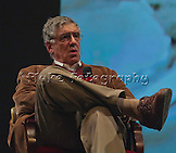 "Elliott Gould as he interviews on the the stage of the old California Theatre after receiving the Maverick Award at Cinequest 2012 and just prIor to the screening of his latest feature film, ""Dorfman."" See many more images of ""Dorfman"" in the Film & T.V. Gallery."