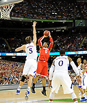 NCAA Semi-final action between Louisville-Kentucky and Ohio State vs. Kansas, played at the Mercedes-Benz Superdome. Images within this gallery are neither for sale or available for further distribution and appear solely as a representation of my photography.