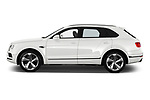 Car Driver side profile view of a 2019 Bentley Bentayga 4wd 5 Door SUV Side View