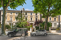 A six-bedroom mansion on the same street as The Apprentice house has gone on sale for £9.25m.