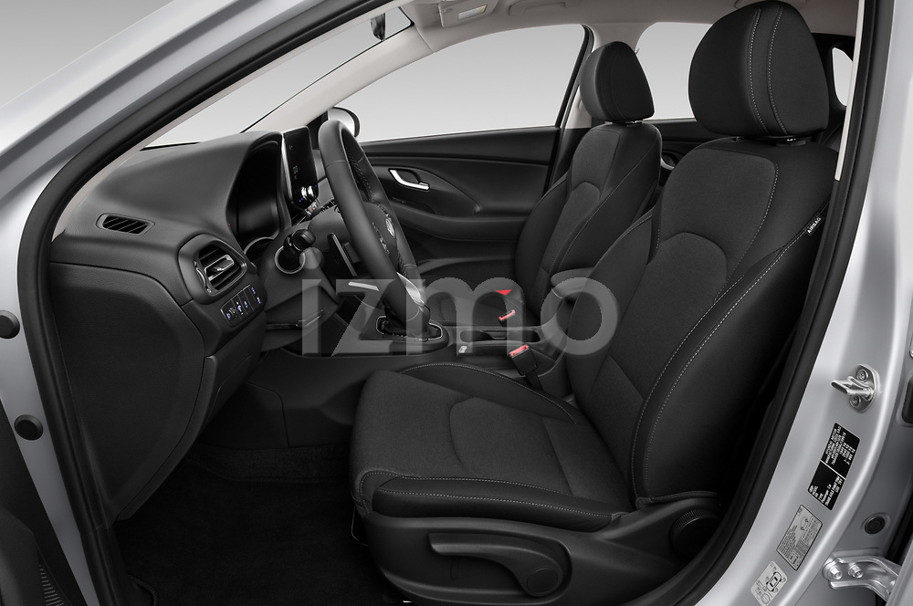 Front seat view of 2020 Hyundai i30 Techno 5 Door Hatchback Front Seat  car photos