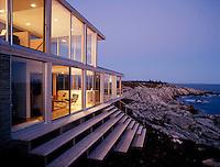 vacation house, New Brunswick, Canada (Julie Snow = architect)