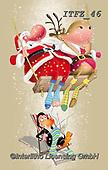 Fabrizio, Comics, CHRISTMAS SANTA, SNOWMAN, WEIHNACHTSMÄNNER, SCHNEEMÄNNER, PAPÁ NOEL, MUÑECOS DE NIEVE, paintings+++++,ITFZ46,#x# ,comic,funny,