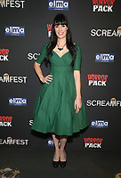 HOLLYWOOD, CA - OCTOBER 12: Tara Erickson, at the 21st Screamfest Opening Night Screening Of The Retaliators at Mann Chinese 6 Theatre in Hollywood, California on October 12, 2021. Credit: Faye Sadou/MediaPunch