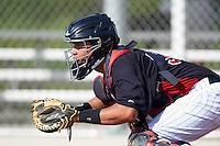 Minnesota Twins Rainis Silva (39) during an instructional league game against the Boston Red Sox on September 26, 2015 at CenturyLink Sports Complex in Fort Myers, Florida.  (Mike Janes/Four Seam Images)