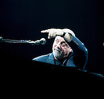 """Billy Joel performs """"Angry Young Man"""" at the Key Arena in Seattle on November 8, 2007. Seattle was the 4th stop on a tour of 15 cities throughout Canada, United States and Mexico.  Jim Bryant Photo. ©2007. All Rights Reserved."""
