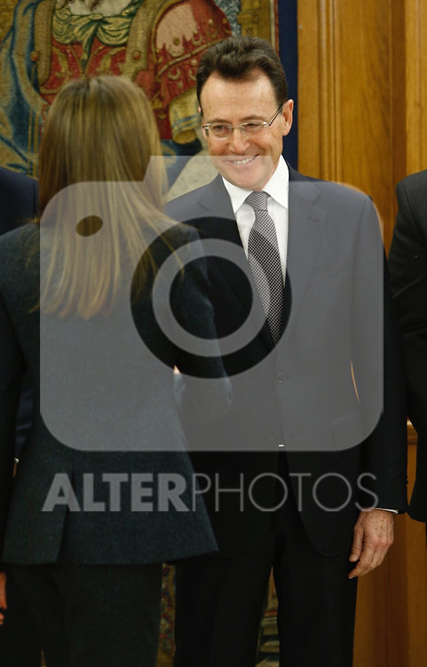 Matias Prats attends patronato of Fundacion Linea Directa and the jury of experts that grant the Journalistic award of road safety at Zarzuela palace in Madrid, Spain. March 16 2017. (ALTERPHOTOS/Rodrigo Jimenez)