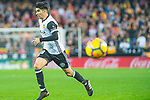 Carlos Soler Barragan of Valencia CF runs with the ball during the La Liga 2017-18 match between Valencia CF and FC Barcelona at Estadio de Mestalla on November 26 2017 in Valencia, Spain. Photo by Maria Jose Segovia Carmona / Power Sport Images