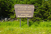 Jefferson Notch Road