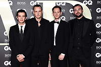 The 1975<br /> arriving for the GQ Men of the Year Awards 2019 in association with Hugo Boss at the Tate Modern, London<br /> <br /> ©Ash Knotek  D3518 03/09/2019