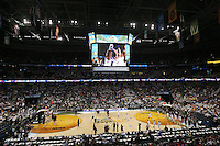 6 April 2008: The interior view of the St. Pete Times Forum Arena facility during Stanford's 82-73 win against the Connecticut Huskies in the 2008 NCAA Division I Women's Basketball Final Four semifinal game at the St. Pete Times Forum Arena in Tampa Bay, FL.