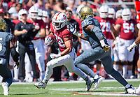 Stanford, Ca. - The Stanford Cardinal Football team vs the UC Davis Aggies in Stanford Stadium. The final score Stanford 30, UC Davis 10.