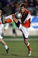 Clemson's Nathan Sturgis. The University of New Mexico defeated Clemson University 2-1 in the NCAA Semifinal at SAS Stadium in Cary, North Carolina, Friday, December 9, 2005.