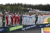 OFFICIAL PHOTOGRAPHY DRIVERS LMGTE PRO FIA WEC SUPER SEASON 2018 - 2019