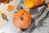 Repliken der prähistorischen Funde von Juodkrante (Schwarzort) auf der kurischen Nehrung, Litauen, Europa