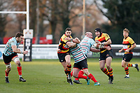 Tom Hodgson of Richmond Rugby during the English National League match between Richmond and Blackheath  at Richmond Athletic Ground, Richmond, United Kingdom on 4 January 2020. Photo by Carlton Myrie.