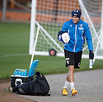 Andy Little begins his rehabilitation at training