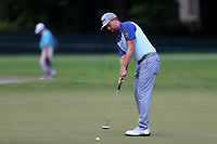 4th September 2020, Atlanta GA, USA;  Webb Simpson putts on the 9th green during the first round of the TOUR Championship  at the East Lake Golf Club in Atlanta, GA.
