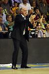 League ACB-ENDESA 2013/2014 - Game: 32.<br /> FC Barcelona vs R. Madrid: 86-75.<br /> Pablo Laso.